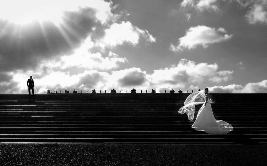 Bride at Versailles
