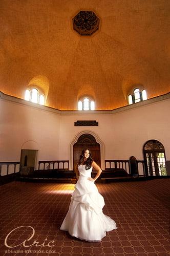Bridal Portrait at The Parador